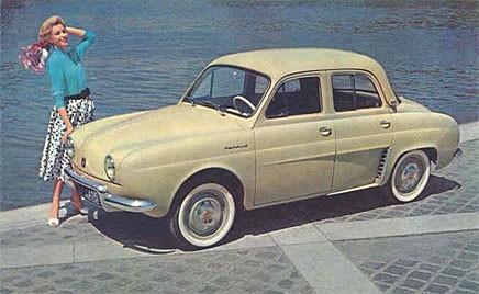 Grattis Renault Dauphine!