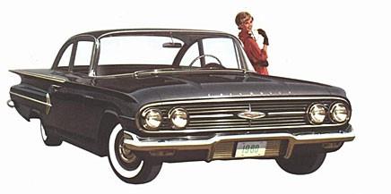 Grattis Chevrolet Bel Air!