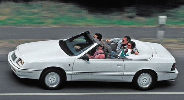 Grattis Chrysler LeBaron!