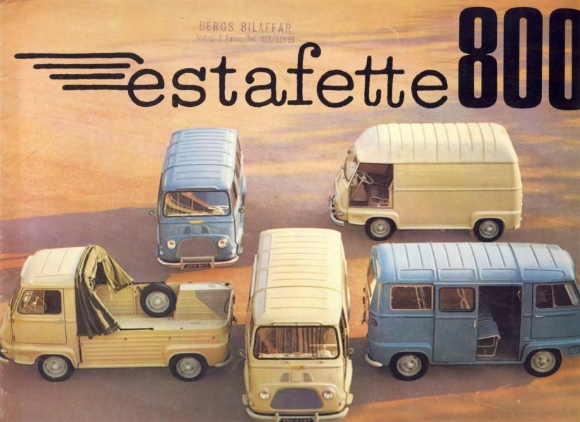 Grattis Renault Estafette!