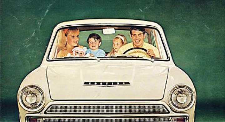 Grattis Ford Cortina!