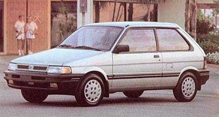 Grattis Subaru Justy!