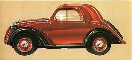 Grattis Fiat Topolino!