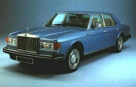 Grattis Rolls-Royce Silver Spirit!
