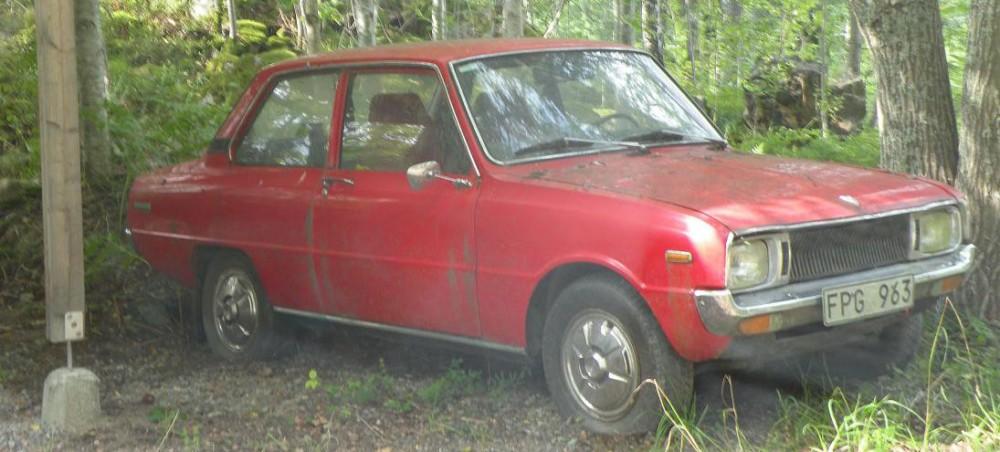 Mazda 1300 - en av två i Sverige