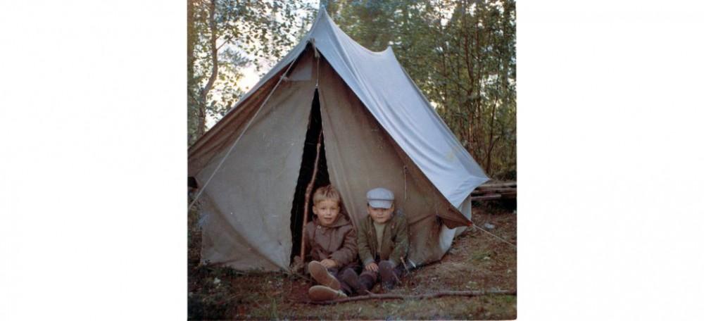När vi flydde campingen