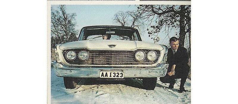 Stockholmare i Ford Fairlane 500