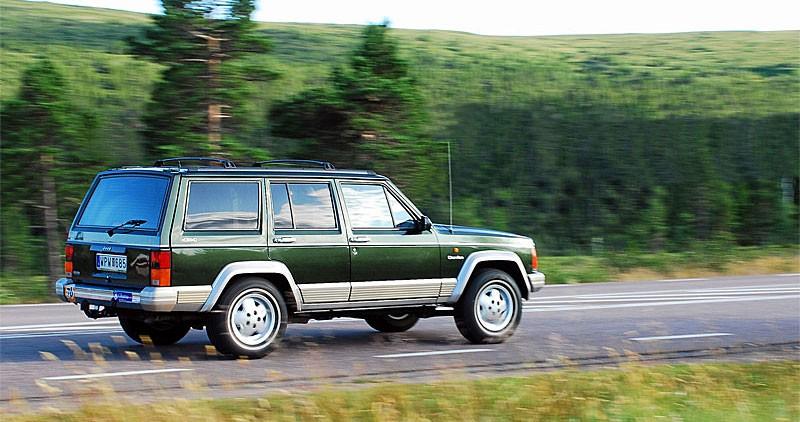 Jeep utan styrsel i tillvaron