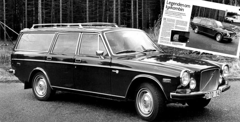 Legenden om udda Volvo 165
