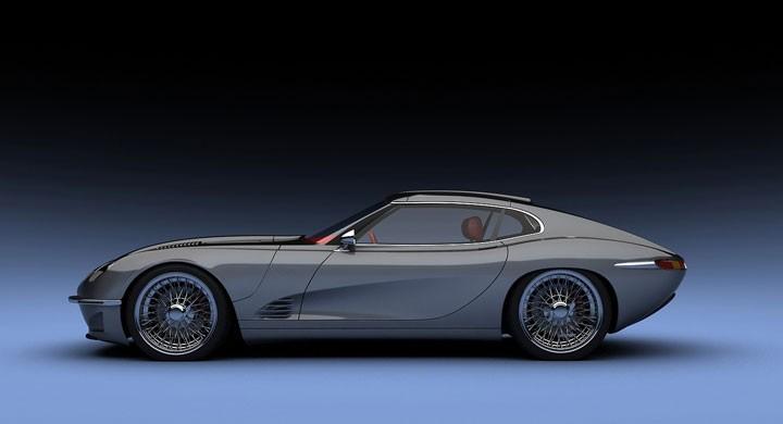 Jaguar E-Type återföds i Growler