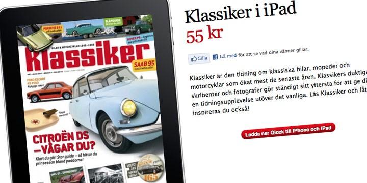 Klassiker på iPad!