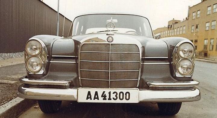 Mercedes 300SE: Tårtmercan