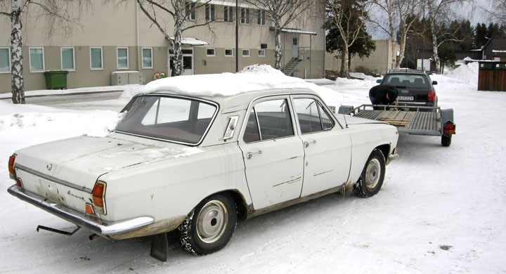 Volga M24 i nöd