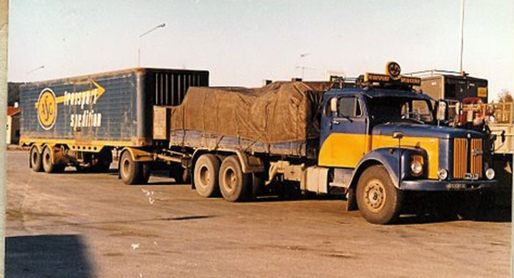 Scania och mycket räksallad