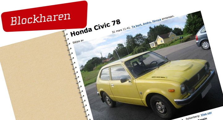 Apropå Honda Civic …