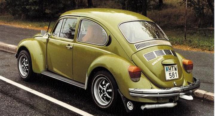 VW Bubbla: Övningsbilen