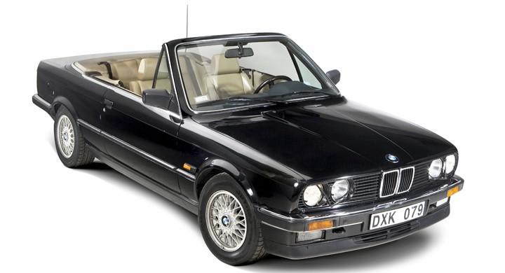 BMW E30 Cabriolet: trea med balkong