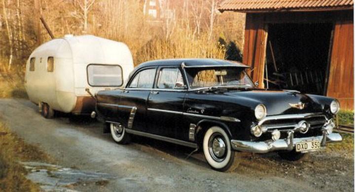 Ford -52:an och dragkroken
