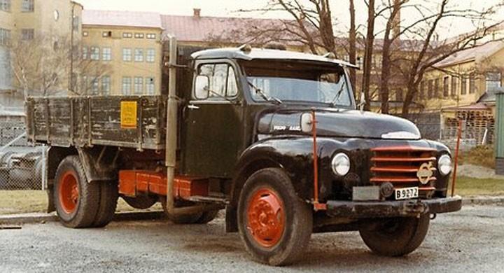 Volvo Raske 1962: Åkarbilen