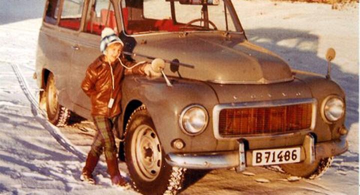 Volvo Duett: Polisbilen