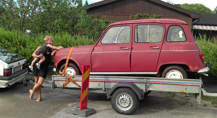 Alfons och bilfyndet