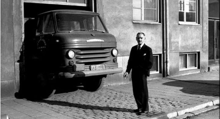 Volvo V8 med skjuten dämpare