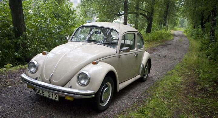 VW 1300 – nu med slut