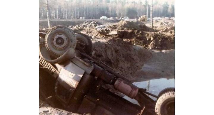 Krasch med ackordsbilen
