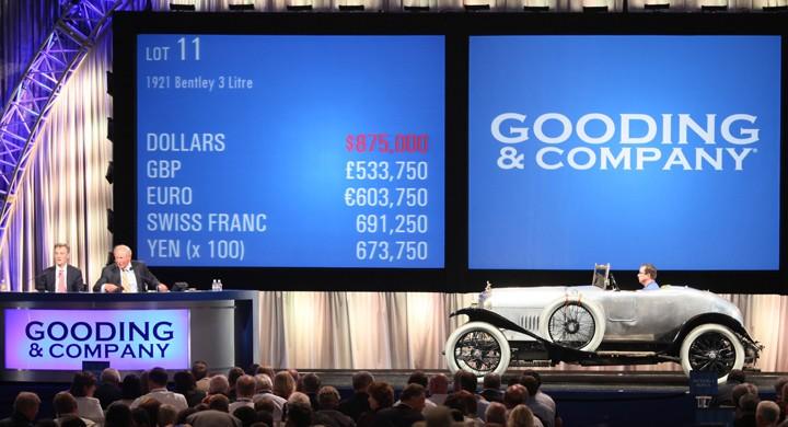 Världens äldsta Bentley såld igen
