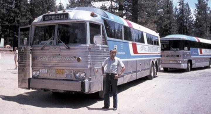 Rallybussen i Sierra Nevada