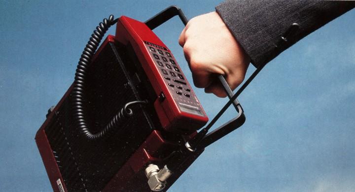 Dagens 80-talare: Biltelefonen