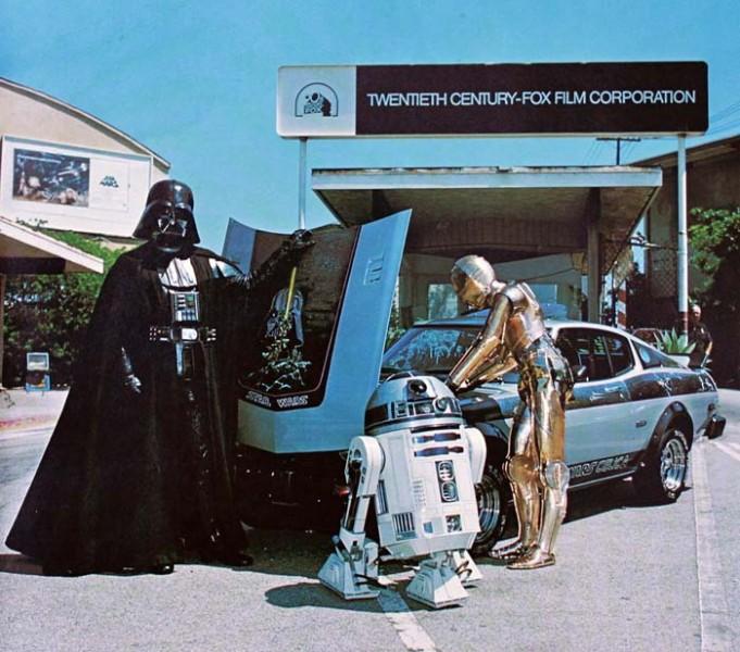 Lord Vader vill ha sin Toyota tillbaka!