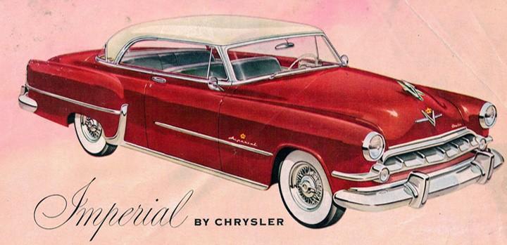 Imperial fashion 1954