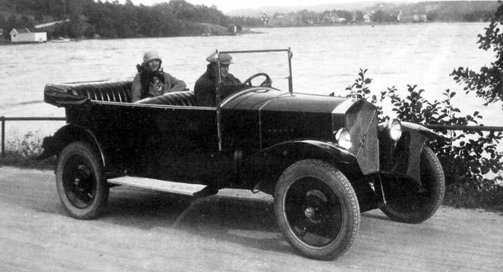 En tur med Jakob i Landvetter 1926