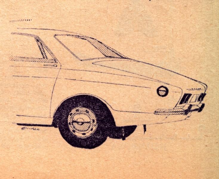 Nya Volvon en Saab