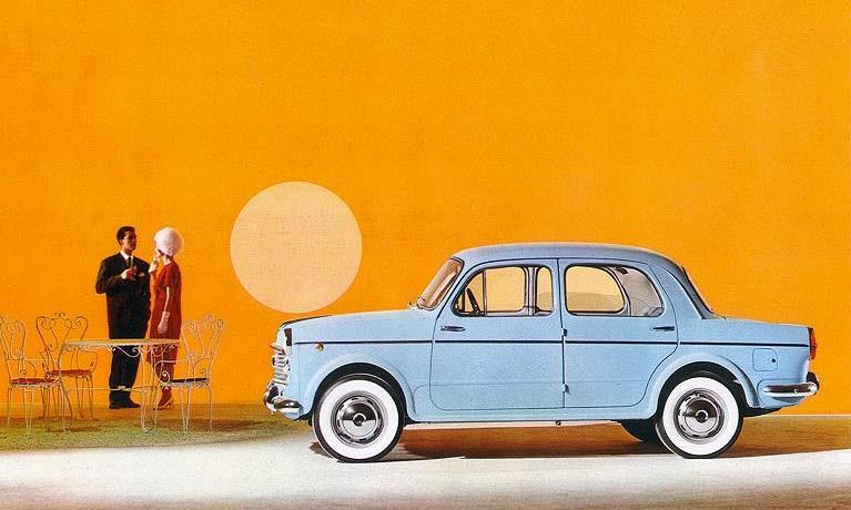 Föränderliga förunderliga Fiat - 1100 serie 2