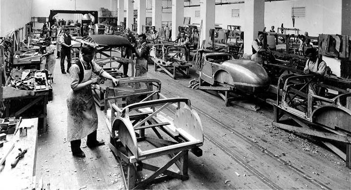 Ett ögonblick från Coventry 1929