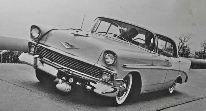 TV i bilen 1956