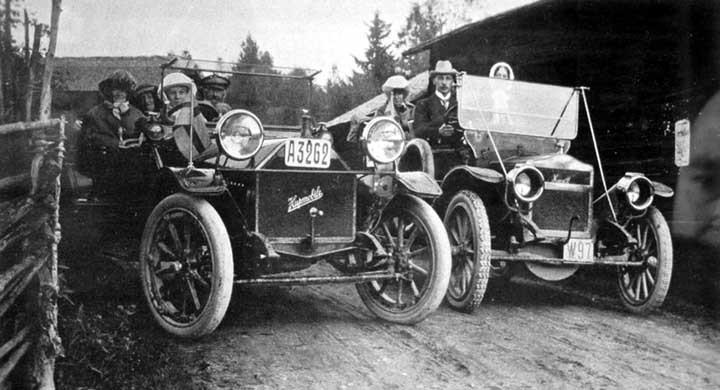 En dag i Dalarna 1913