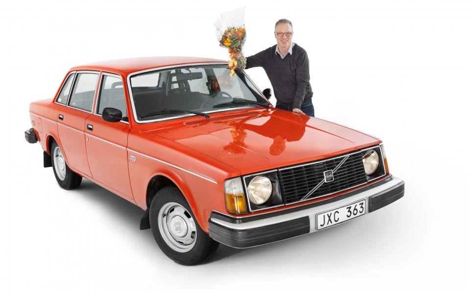 Volvo 244 blev Årets Klassiker!