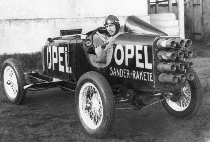 Raketer från Opel