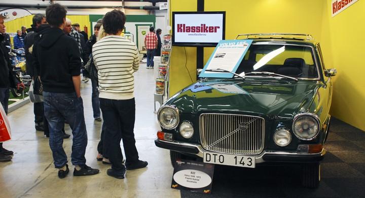 Se Klassikers Volvo 165 på Elmiamässan!