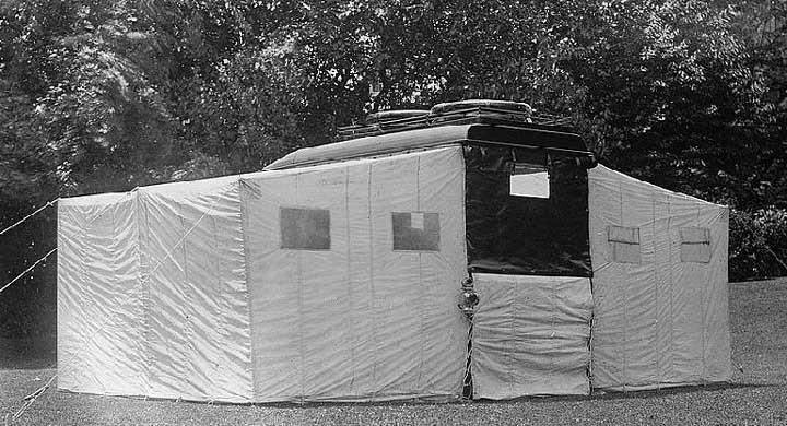 Tidig campingbil