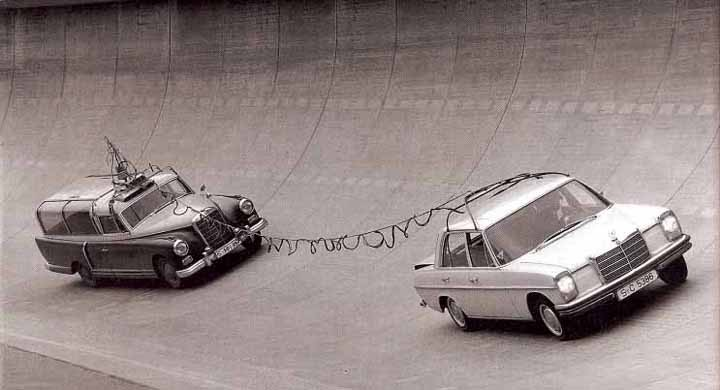 Mercedesklubben mäter avgaser