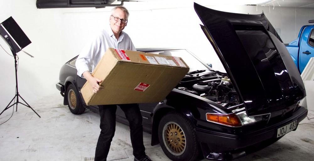 Rover 3500: Paketöppning!