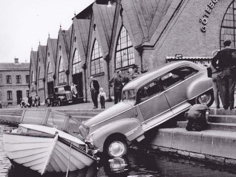 En dag vid Feskekôrka 1956