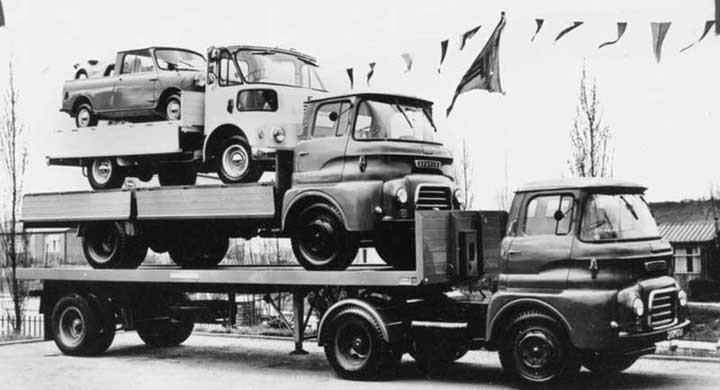 Lasta lastbil på lastbil på....
