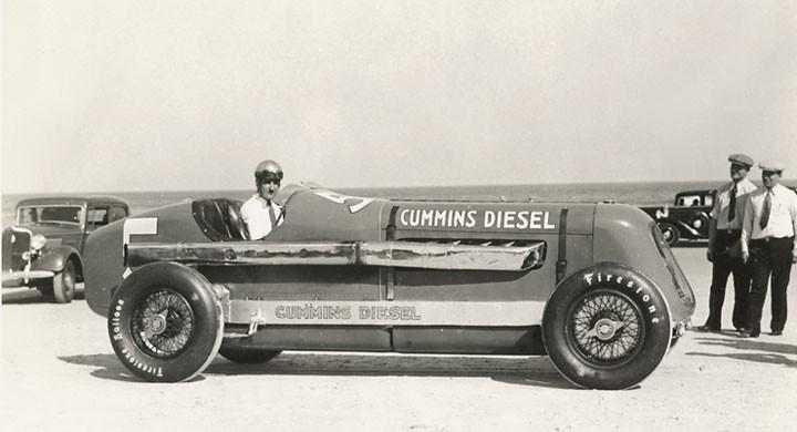 Med diesel på Daytona