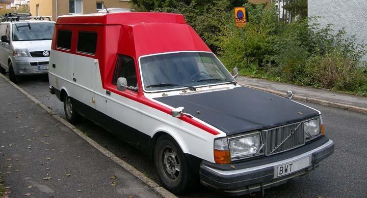 Volvo 264: Återvänd pensionär