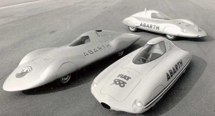 Abarths aerodynamiska